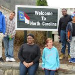 Cadets enjoyed a visit to North Carolina when going to the Biltmore Estate.